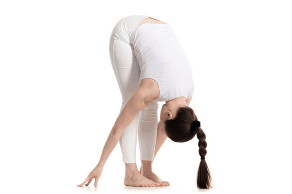 Standing Forward Fold Yoga Pose