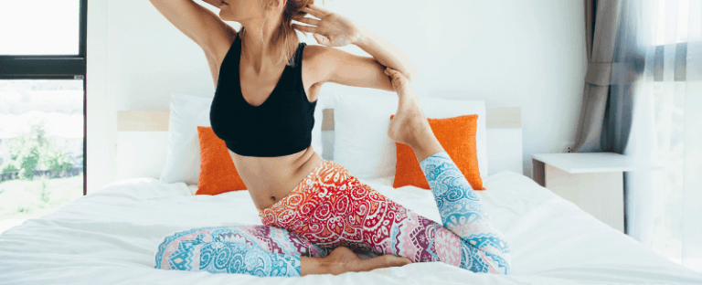 Morning Yoga You Can Do In Bed