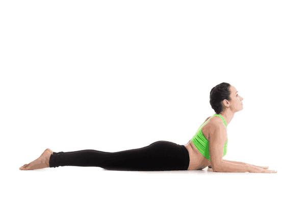 Cobra Yoga Pose Variation