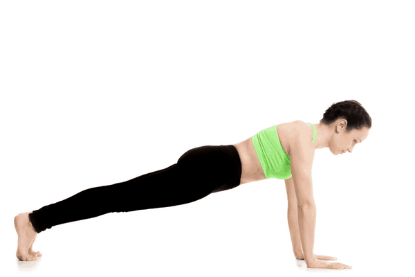 plank yoga pose variations