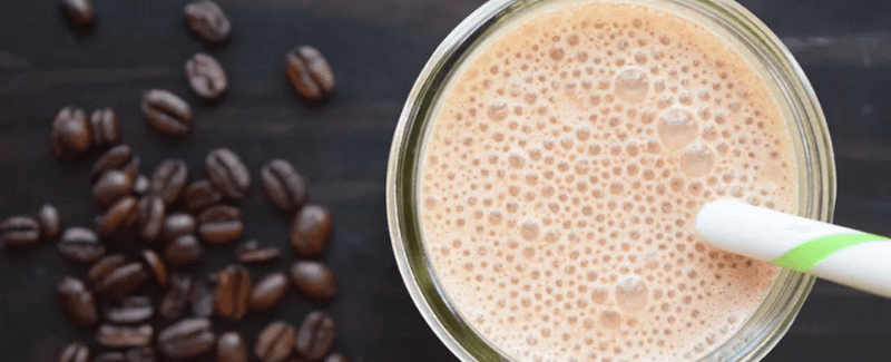 most straight-forward coffee protein shake